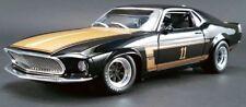 1969  Mustang BLACK 1:18 Acme 1801816 Smokey Yunick