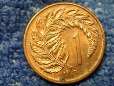 NEW ZEALAND: SMALL CENT 1983 ABOUT UNCIRCULATED!!