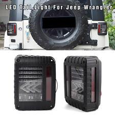Pair LED Tail Light Bulbs Brake Signal Reversing Lamp For Jeep Wrangler JK 07-16