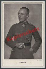 Perscheid ORIG. foto retrato de impresión en serio Udet fuerza aérea Jasta 4 medalla Berlín 1918