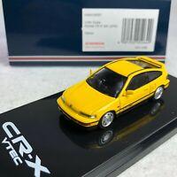 1/64 Hobby Japan Honda CR-X SiR EF8  Yellow HJ641005Y