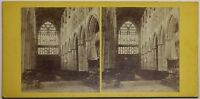 Bridlington Priory Eglise UK Foto Stereo P48n Vintage Albumina