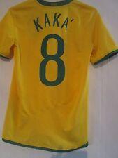 Brasil 2008-2009 Hogar Camiseta De Fútbol Liga 8 Tamaño Pequeño/40959
