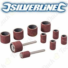 307x Perceuse Ponçage Band Drum Set manches Canette 80-240 Grit Dremel Rotary