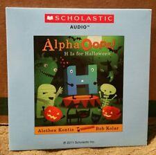 Scholastic Audio CD - ALPHA OOPS! H IS FOR HALLOWEEN Kontis Kolar VGC Book FALL