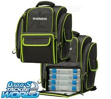 Shimano Backpack 4 Tackle Box LUG1511 BRAND NEW at Otto's Tackle World Drummoyne
