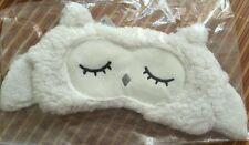 NEW Plush Owl Eye Sleeping Mask Elastic band Adult Korean Great Gift