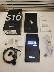 Samsung Galaxy S10+ SM-G975U - 128GB - READ DESCRIPTION - Prism White