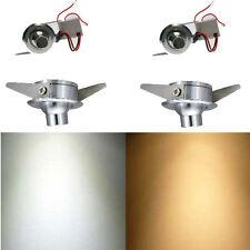 5 Mini faretti orientabili da incasso led per parete cartongesso soffitto muro