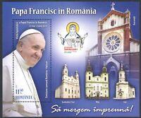 2019 Romania - Foglietto Papa Francesco in Romania - Emissione Congiunta con ...
