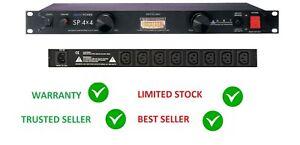 "ART SP4X4 POWER CONDITIONER DISTRIBUTION SURGE SPIKE RFI EMI FILTERING 19"" PDU"
