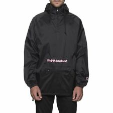 HUF X KEEP A BREAST ANORAK Size LARGE