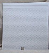 "Half 1/24 Scale - Octagonal Tile Roof Sheet   PRE1239 - 13""x14"" G Garden Scale"
