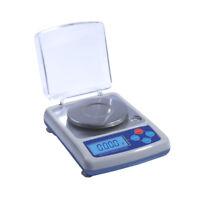 Electronic Precision Lab Analytical Balance LCD Jewelry Balance Scale 0.001g 1mg