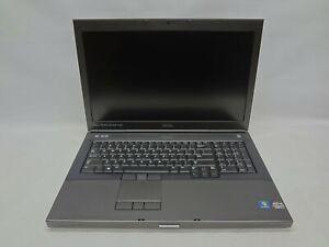 """Dell Precision M6700 17.3"""" Laptop 2.9 GHz i7-3520M 4GB RAM (Grade C)"""