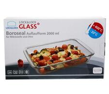 2000ml Boroseal Auflaufform Servierschale Backform Aufbackform Ofenform Glasform