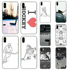Hockey duro caso para Apple iPhone XS Max Xr X 8 7 6 6S Plus