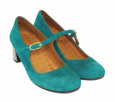 Chie Mihara Mary Janes Suede Upper Heels for Women