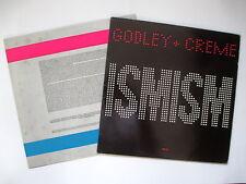 GODLEY & CREME (10cc) ISMISM 1981 UK VINYL LP PICTURE INNER EX/EX