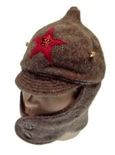 Uniform Soldier Budenovka Military Cap Russian Army Hat USSR Soviet  Chapayevka
