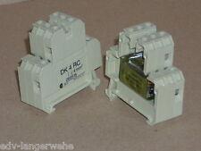 WEIDMÜLLER  DK 4 RC  4 mm  069516   220 V AWG 22 to 12 ( 1 Stk )
