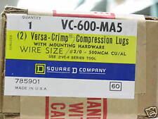VC-600-MA5  Square D   Compression Lugs