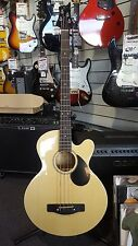 Greg Bennett AB2 Acoustic Electric Bass Guitar - Built in Tuner - Spruce Top