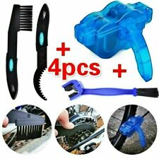 Bicycle Chain Cleaning Brushes Kit Scrubber Cycling Bike Wheel Wash Cleaner Tool