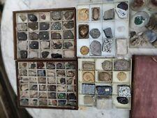 More details for vintage mineral rock fossil specimen collection  over 90 pieces