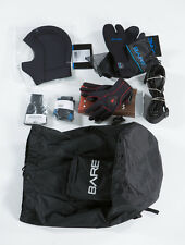 Bare D6 HD Pro Dry dry suit and accessories