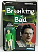 "Breaking Bad Walter White 3 3/4"" Action Figure NEW Reaction Funko Super 7"
