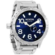 Nixon 51-30 Tide A0571258 Blue Dial Men's Stainless Steel Watch