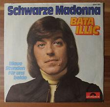 "Single 7"" Vinyl Schwarze Madonna Bata Illic Blaue Stunden 2041501 Near Mint"