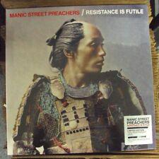 MANIC STREET PREACHERS Resistance Is Futile LP SEALED alt-rock w/CD