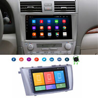 Android 9.1 Car Stereo Radio 9Inch HD Screen GPS OBD For TOYOTA CAMRY 2007-2011