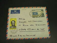 Cameroon 1969 airmail cover to switzerland *30234