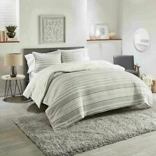 UGG Eclipse Stripe 3-Piece Reversible Full/Queen Comforter Set in Grey