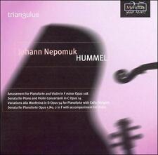 Hummel: Piano & Violin Sonatas, New Music