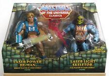 Masters of the Universe MOTU Classics Laser Power He-Man, Laser Light Skeletor