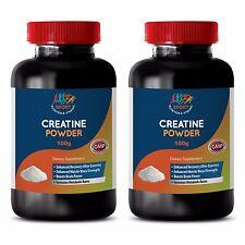 Creatine Powder 100g  Enhanced Muscle Lean  Mass & Strength Opti Men 2bottle