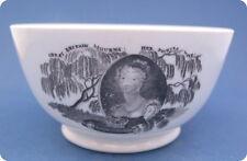 Rare 1817 Princess Charlotte in Memoriam Bowl