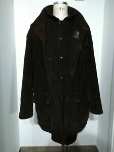 FAY giaccone giacca vintage originale velluto a costa coat size XXL