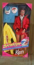 Baywatch Lifeguard Ken Doll 1994 #13200 w/Jetski n accessories  *NRFB
