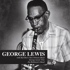 CD GEORGE LEWIS KID SHOT'S NEW ORLEANS BAND SHEIK OF ARABY OLD RUGGED CROSS ETC