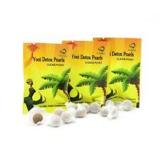 20 Natural Herbal Womb Yoni Vaginal Cleansing Healing Detox Pearls Tampons