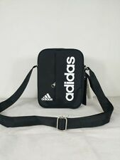 adidas performance linear small items organiser bag travel Satchel Black