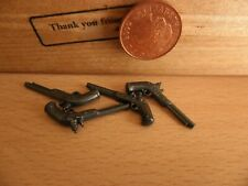4481 Toy Plastic Guns / Long Barrel Pirate Pistols  Playmobil New Western Spares