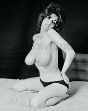 A581 4x5 BUSTY 1960s Pinup, JOAN BRINKMAN #1A * BIG BEAUTIFUL BREASTS! (NUDES)
