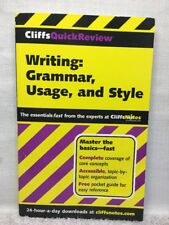 (AL) Writing Grammar Usage Style (Cliffs Quick Review); Free US Shipping VGUC