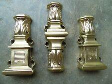 Guides de crémone de fenetre en bronze,ancienne maison de maitre chateau serrure